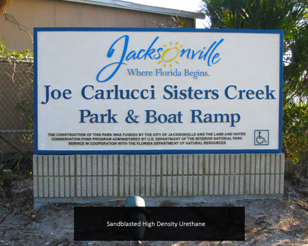 Wood & HDU Signs (Routed / Sandblasted)
